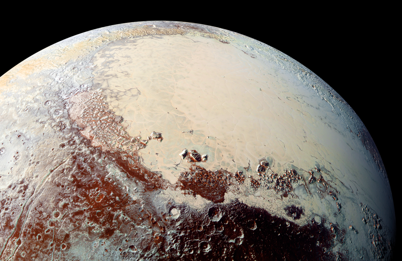 Pluto's Brilliant 'Heart' ©NASA.gov